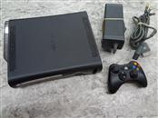 MICROSOFT XBOX 360 ELITE 120GB WITH HOOKUPS AND BROKEN CONTROLLER **AS IS**